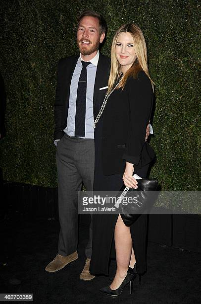 Actress Drew Barrymore and husband Will Kopelman attend the release of 'Find It In Everything' at Chanel Boutique on January 14 2014 in Beverly Hills...