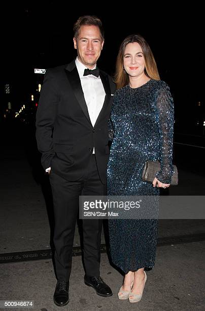 Actress Drew Barrymore and Will Kopelman are seen on December 10 2015 in New York City