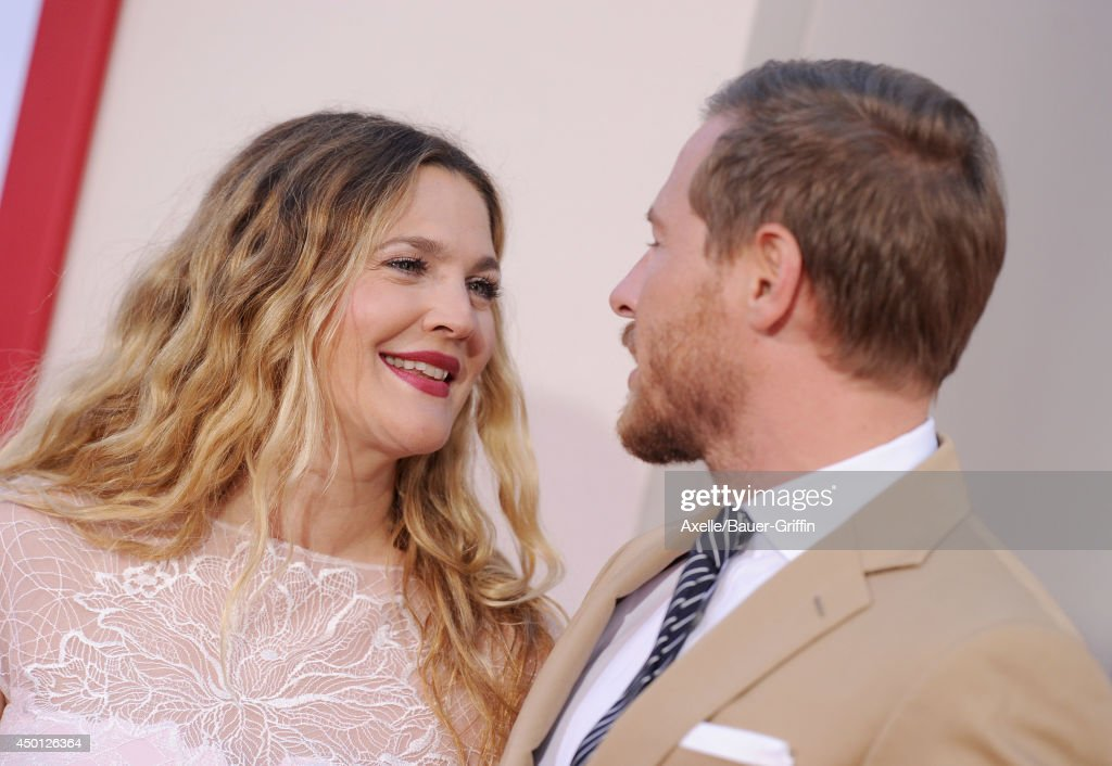 Actress Drew Barrymore and Will Kopelman arrive at the Los Angeles premiere of 'Blended' at TCL Chinese Theatre on May 21, 2014 in Hollywood, California.