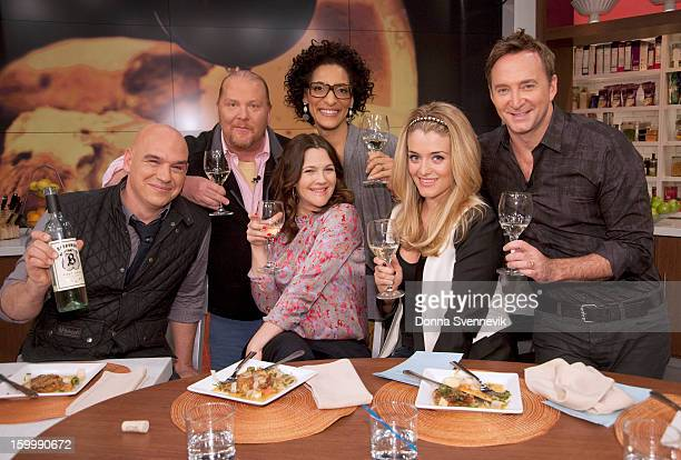 THE CHEW Actress Drew Barrymore appears today Wednesday January 23 2013 on The Chew The Chew also welcomes master pastry chef Jacques Torres The Chew...