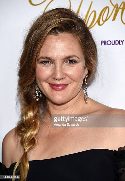 """Actress Drew Barrymore arrives at the 2016 Children's Hospital Los Angeles """"Once Upon a Time"""" Gala at the L.A. Live Event Deck on October 15, 2016 in..."""