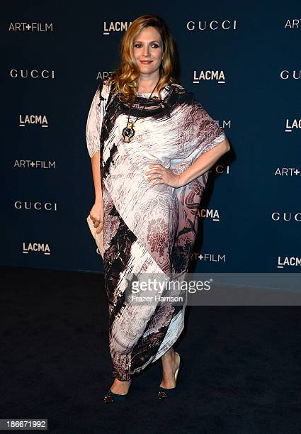 Actress Drew Barrymore arrives at the LACMA 2013 Art Film Gala on November 2 2013 in Los Angeles California