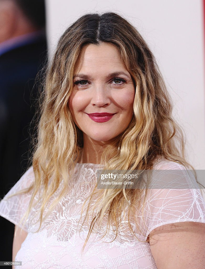 Actress Drew Barrymore arrives at the Los Angeles premiere of 'Blended' at TCL Chinese Theatre on May 21, 2014 in Hollywood, California.
