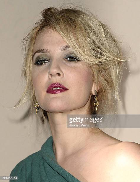 Actress Drew Barrymore attends Inside Grey Gardens at the Academy of Television Arts Sciences on April 17 2009 in North Hollywood California