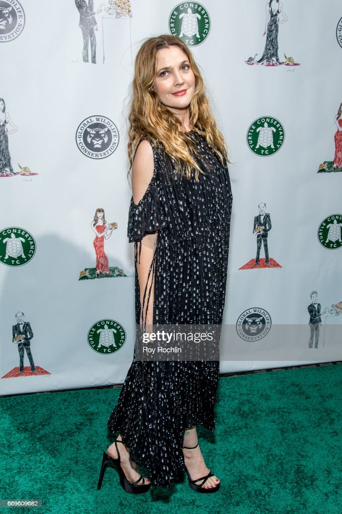 Actress Drew Barrymore attends the 2017 Turtle Ball at The Bowery Hotel on April 17, 2017 in New York City.
