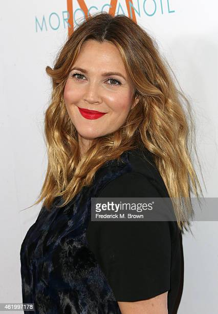 Actress Drew Barrymore attends The DAILY FRONT ROW Fashion Los Angeles Awards at the Sunset Tower Hotel on January 22 2015 in West Hollywood...