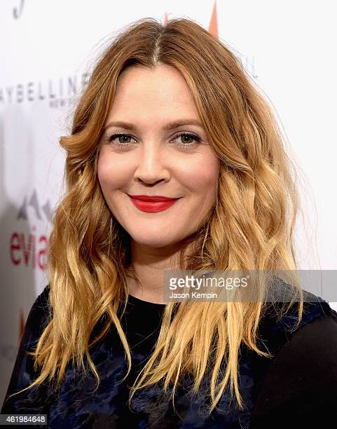 Actress Drew Barrymore attends The DAILY FRONT ROW Fashion Los Angeles Awards Show at Sunset Tower on January 22 2015 in West Hollywood California