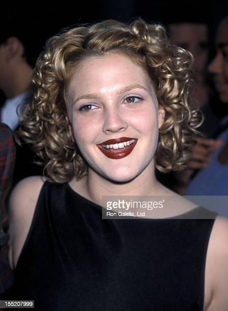 Actress Drew Barrymore attends the 'Ever After' Beverly Hills Premiere on July 29 1998 at the Samuel Goldwyn Theatre in Beverly Hills California