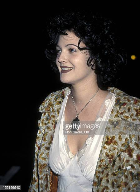 Actress Drew Barrymore attends the From Dusk Till Dawn Hollywood Premiere on January 17 1996 at the Pacific's Cinerama Dome in Hollywood California