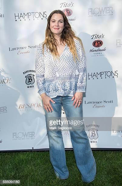 Actress Drew Barrymore attends the Hamptons Magazine Memorial Day Soiree on May 28 2016 in Sagaponack New York