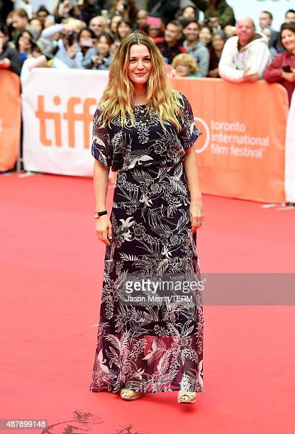 Actress Drew Barrymore attends the 'Miss You Already' premiere during the 2015 Toronto International Film Festival at Roy Thomson Hall on September...