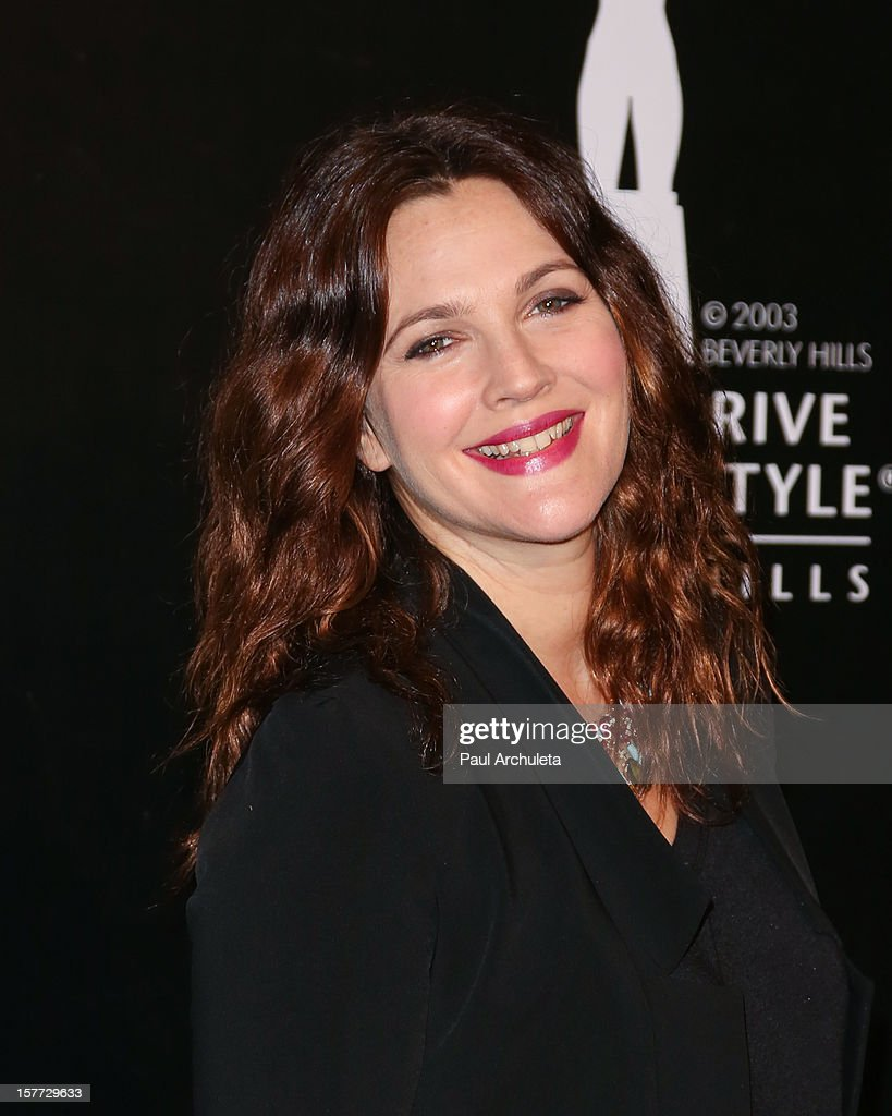 Actress Drew Barrymore attends the Rodeo Drive Walk of Style honoring BVLGARI on December 5, 2012 in Beverly Hills, California.