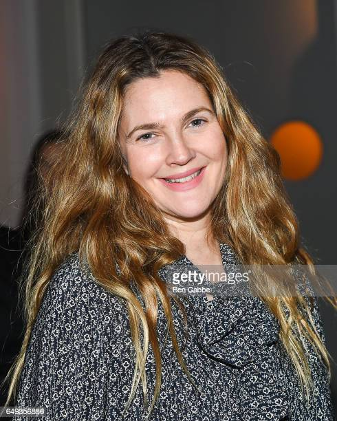 Actress Drew Barrymore attends The Society of MSK's 2017 Bunny Hop at 583 Park Avenue on March 7 2017 in New York City