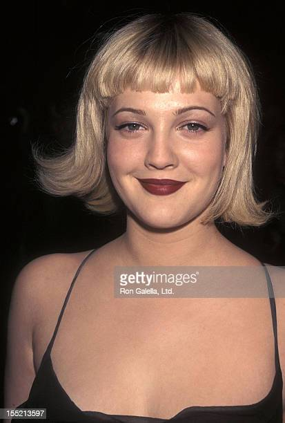 Actress Drew Barrymore Attends The Wedding Singer New York City Premiere On February 12