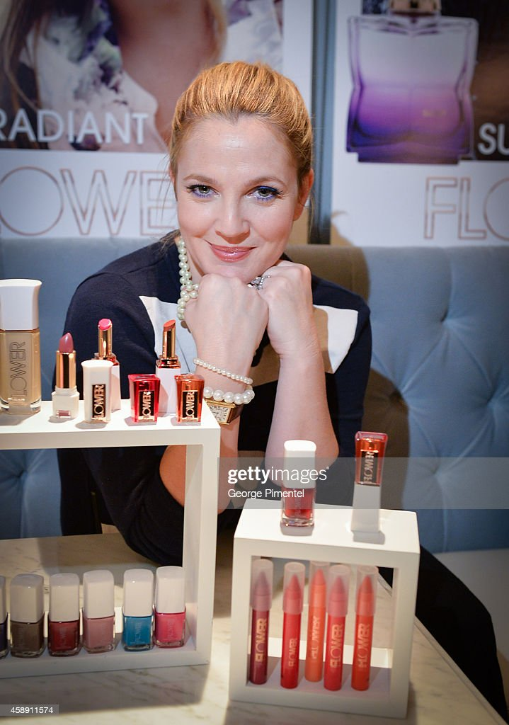 Drew Barrymore Launches Flower - Love The Way You Look In Toronto