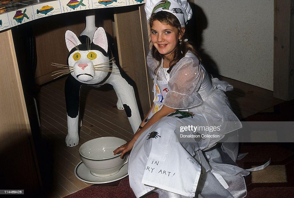 Actress Drew Barrymore...
