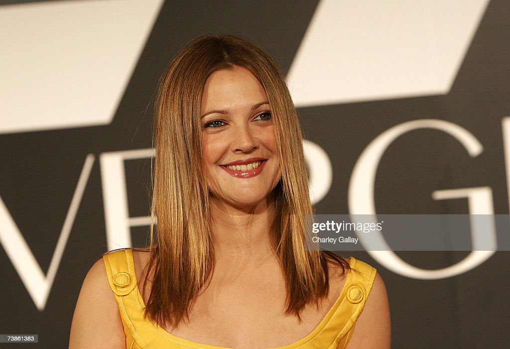 Drew Barrymore Holds Press Conference To Announce Her New Endeavor : News Photo