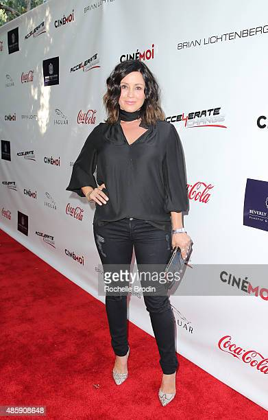 Actress Dru Mouser attends the Accelerate4Change charity event presented by Dr Ben Talei Cinemoi on August 29 2015 in Beverly Hills California