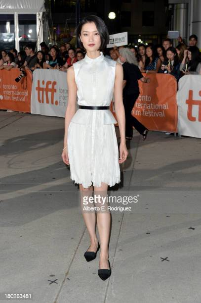 Actress Du Juan arrives at the American Dreams Premiere during the 2013 Toronto International Film Festival at Roy Thomson Hall on September 10 2013...