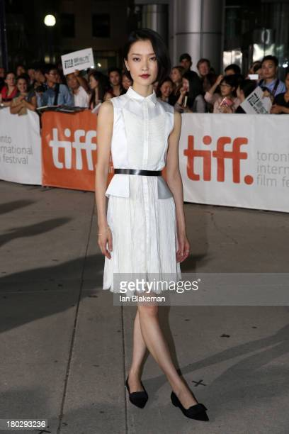 Actress Du Juan arrives at the 'American Dreams' Premiere during the 2013 Toronto International Film Festival at Roy Thomson Hall on September 10...