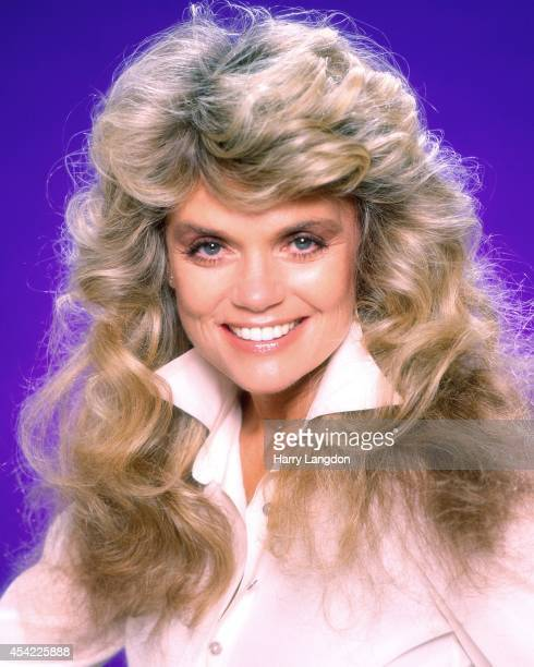 Actress Dyan Cann0n poses for a portrait in 1985 in Los Angeles California