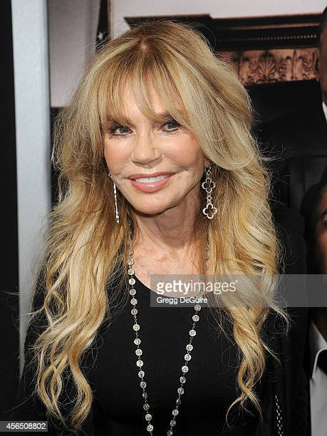 Actress Dyan Cannon arrives at the Los Angeles premiere of 'The Judge' at AMPAS Samuel Goldwyn Theater on October 1 2014 in Beverly Hills California