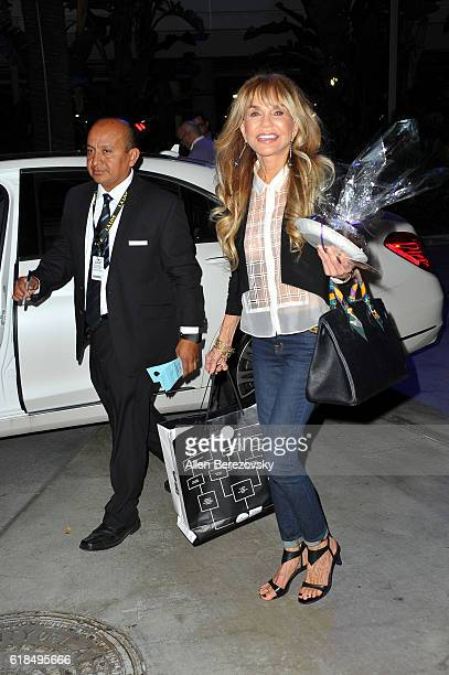 Actress Dyan Cannon attends a Los Angeles Lakers game on October 26 2016 in Los Angeles California