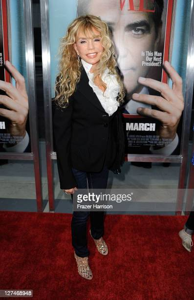 Actress Dyan Cannon attends the Premiere of Columbia Pictures' 'The Ides Of March' held at the Academy of Motion Picture Arts and Sciences' Samuel...