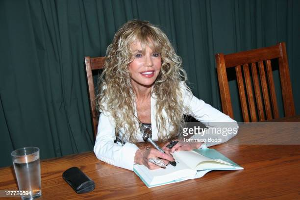 Actress Dyan Cannon signs copies of her new memoir Dear Cary at Vroman's Bookstore on September 30 2011 in Pasadena California
