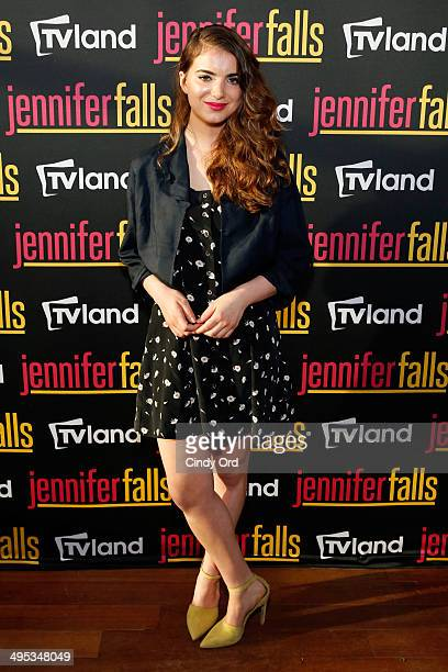 Actress Dylan Gelula attends TV Land's Jennifer Falls premiere party at Jimmy At The James Hotel on June 2 2014 in New York City