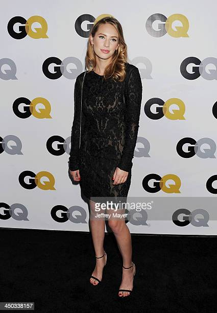 Actress Dylan Penn arrives at the 2013 GQ Men Of The Year Party at The Ebell of Los Angeles on November 12 2013 in Los Angeles California