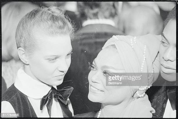 Actress Eartha Kitt and her daughter Kitt McDonald are among more than 400 guests at a White House reception held late January 29th to celebrate the...
