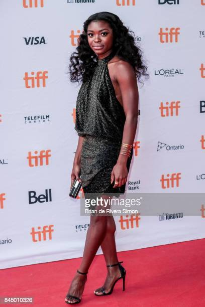 Actress Ebonee Noel attends the I Love You Daddy premiere during the 2017 Toronto International Film Festival at Ryerson Theatre on September 9 2017...