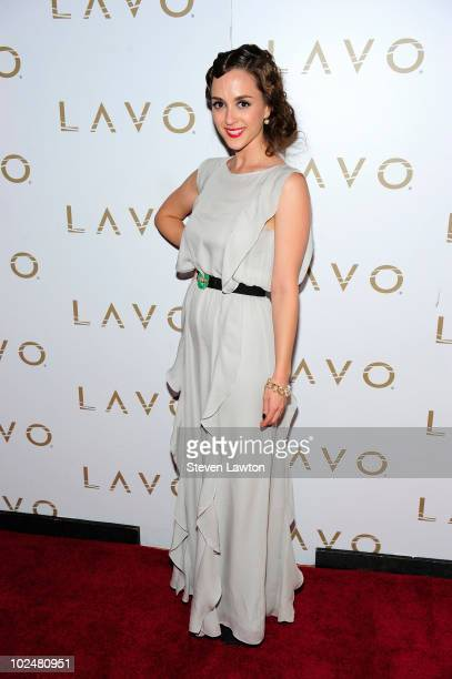 Actress Eden Riegel arrives at the 'All My Children' Daytime Emmy Post Award Celebration at Lavo on June 27 2010 in Las Vegas Nevada