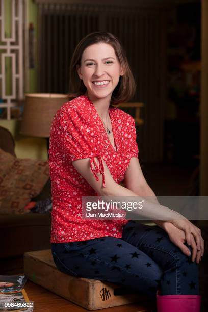 Actress Eden Sher from 'The Middle' is photographed for USA Today on March 22 2018 in Burbank California