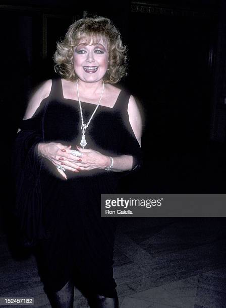 Actress Edie Adams attends the Northern Lights Alternatives Presents the Preview Musical Performance of 'Choices' to Benefit AIDS Mastery Workshop on...