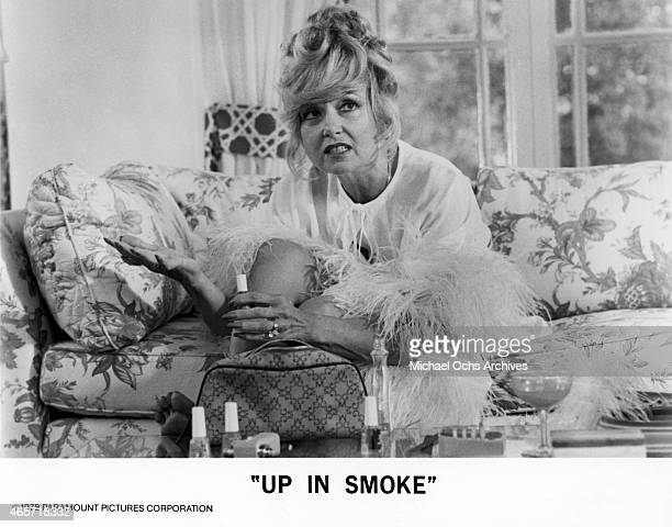 Actress Edie Adams in a scene from the movie Cheech And Chong's Up In Smoke in September 1978