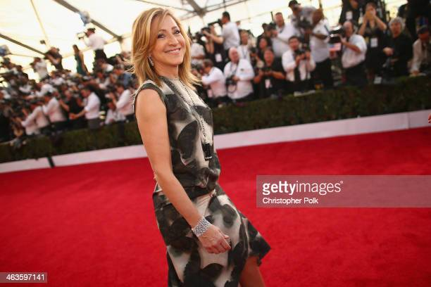 Actress Edie Falco attends 20th Annual Screen Actors Guild Awards at The Shrine Auditorium on January 18 2014 in Los Angeles California