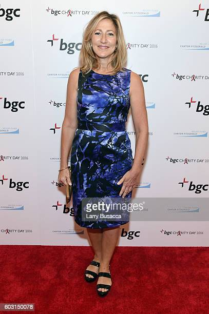 Actress Edie Falco attends Annual Charity Day hosted by Cantor Fitzgerald BGC and GFI at BGC Partners INC on September 12 2016 in New York City