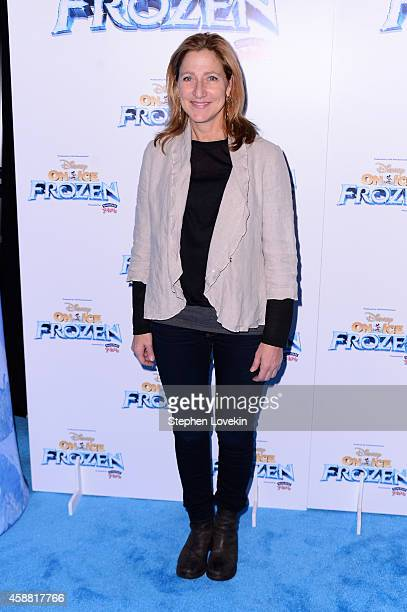Actress Edie Falco attends Disney On Ice presents Frozen at Barclays Center on November 11 2014 in New York City