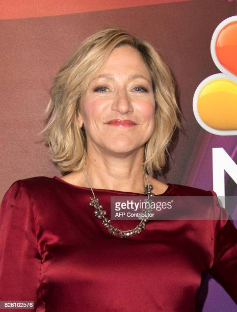 Actress Edie Falco attends NBC TCA Summer Press Tour 2017 on August 3 in Beverly Hills California / AFP PHOTO / VALERIE MACON