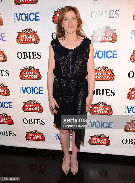 Actress Edie Falco attends The 2013 Obie Awards at Webster Hall on May 20, 2013 in New York City.
