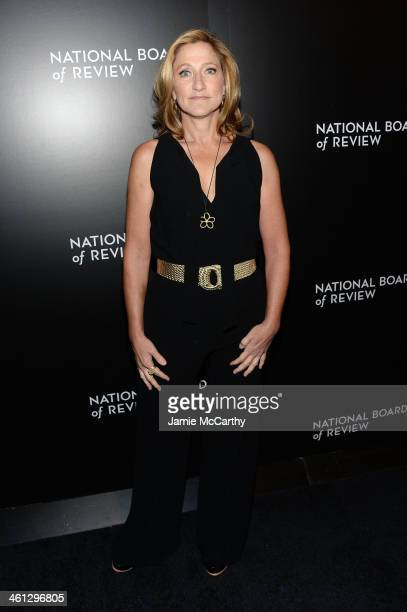 Actress Edie Falco attends the 2014 National Board Of Review Awards Gala at Cipriani 42nd Street on January 7 2014 in New York City