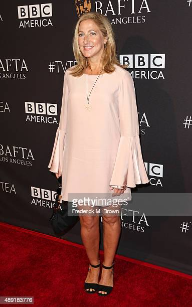 Actress Edie Falco attends the 2015 BAFTA Los Angeles TV Tea at SLS Hotel on September 19 2015 in Beverly Hills California