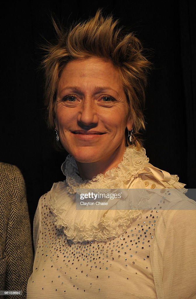 Actress Edie Falco Attends The U00273 Backyardsu0027 Premiere During The 2010  Sundance Film Festival