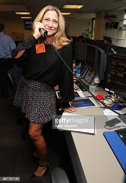 Actress Edie Falco attends the annual Charity Day hosted by Cantor Fitzgerald and BGC at Cantor Fitzgerald on September 11 2015 in New York City
