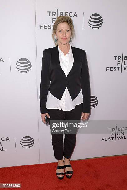 Actress Edie Falco attends the Elvis Nixon premiere during the 2016 Tribeca Film Festival at John Zuccotti Theater at BMCC Tribeca Performing Arts...
