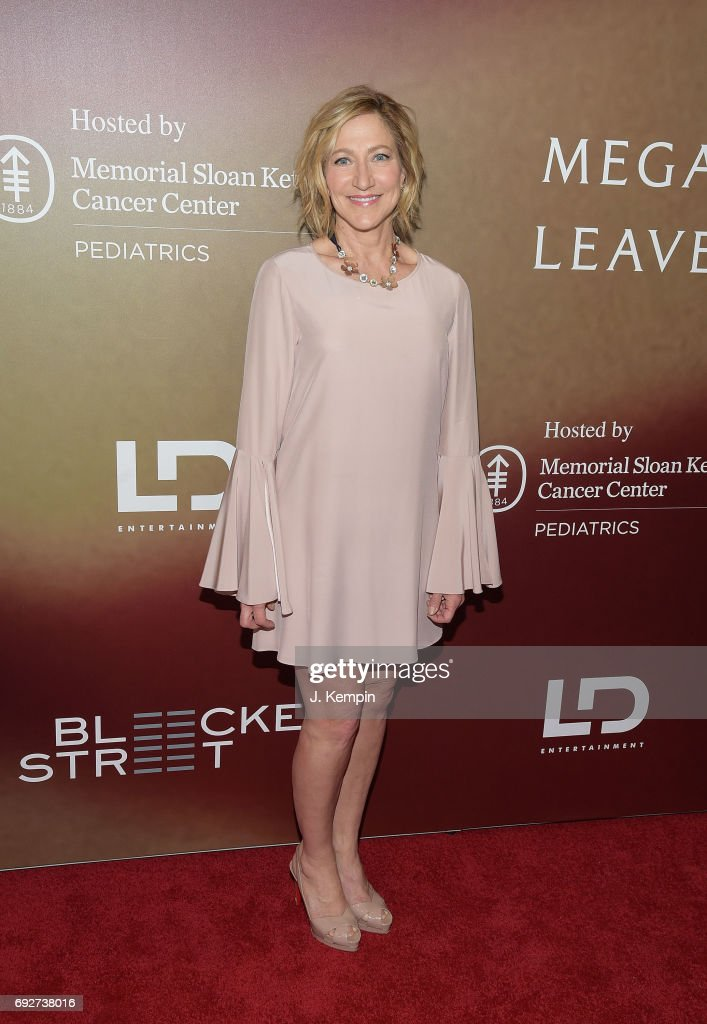 Actress Edie Falco attends the 'Megan Leavey' World Premiere at Yankee Stadium on June 5, 2017 in the Bronx borough of New York City.