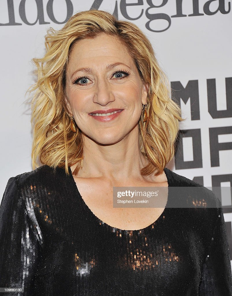 Actress Edie Falco attends the Museum of the Moving Image salute to Alec Baldwin at Cipriani 42nd Street on February 28, 2011 in New York City.