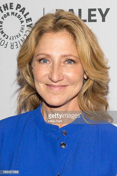 Actress Edie Falco attends the Nurse Jackie panel during 2013 PaleyFest Made In New York at The Paley Center for Media on October 6 2013 in New York...